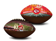 Travis Kelce Kansas City Chiefs NFL Full Size Official Licensed Premium Football