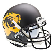 Missouri Tigers Alternate Matte Black Schutt Mini Authentic Helmet