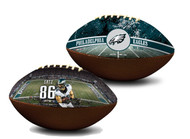 Zach Ertz Philadelphia Eagles NFL Full Size Official Licensed Premium Football