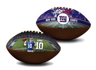 Eli Manning New York Giants NFL Full Size Official Licensed Premium Football