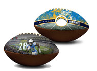 Melvin Gordon Los Angeles Chargers NFL Full Size Official Licensed Premium Football
