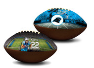 Christian McCaffrey Carolina Panthers NFL Full Size Official Licensed Premium Football