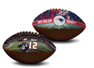 Tom Brady New England Patriots NFL Full Size Official Licensed Premium Football