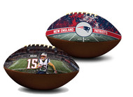 Chris Hogan New England Patriots NFL Full Size Official Licensed Premium Football