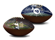 Jared Goff Los Angeles Rams NFL Full Size Official Licensed Premium Football