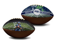 Russell Wilson Seattle Seahawks NFL Full Size Official Licensed Premium Football