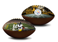 Antonio Brown Pittsburgh Steelers NFL Full Size Official Licensed Premium Football