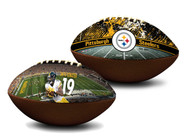 Juju Smith-Schuster Pittsburgh Steelers NFL Full Size Official Licensed Premium Football