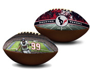 J. J. Watt Houston Texans NFL Full Size Official Licensed Premium Football