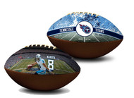 Marcus Mariota Tennessee Titans NFL Full Size Official Licensed Premium Football
