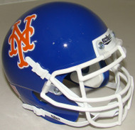 New York Mets Schutt Mini FOOTBALL Helmet