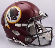 Washington Redskins NFL Retro Tribute Color Rush SPEED Riddell Full Size Replica Football Helmet