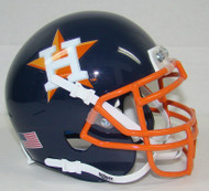 Houston Astros Schutt Mini FOOTBALL Helmet