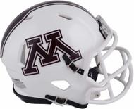 Minnesota Golden Gophers White NCAA Riddell Speed Mini Football Helmet