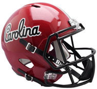South Carolina Gamecocks Script SPEED Riddell Full Size Replica Football Helmet