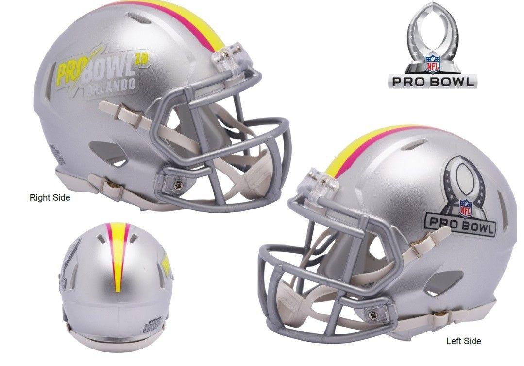 13833e94eb8 NFL Pro Bowl 2019 Riddell Revolution Speed Mini Football Helmet ...