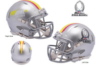 NFL Pro Bowl 2019 Riddell Revolution Speed Mini Football Helmet
