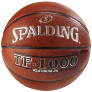 "Spalding TF-1000 Platinum ZK Full Size Basketball Men's Official Size 7 (29.5"")"