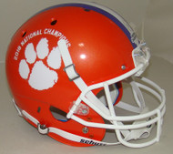 Clemson Tigers Special 2018 CFP National Champions NCAA Schutt Full Size Replica Football Helmet