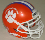 Clemson Tigers Special 2018 CFP NCAA National Champions Schutt Authentic Mini Football Helmet
