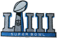 NFL Super Bowl LIII Iron On Collectors Patch