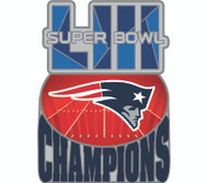 Super Bowl LIII (53) New England Patriots Champions Commemorative Lapel Pin