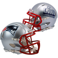 Riddell New England Patriots Super Bowl LIII Champions Revolution Speed Mini Football Helmet