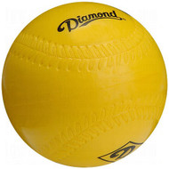 Diamond 12 inch Lightweight Foam Softball Size Practice Softballs (1 Dozen) DFB-12