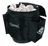 Diamond Ball Bag for Baseballs or Softballs (Black)