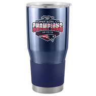 New England Patriots Navy Super Bowl 53 LIII Champions 30 oz. Curved Ultra Tumbler