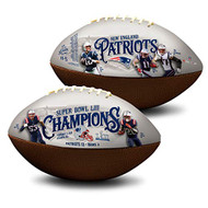 New England Patriots Super Bowl 53 LIII Champions NFL Full Size Official Licensed Premium Football