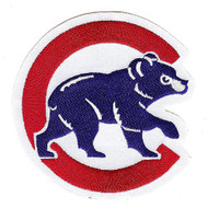 Chicago Cubs Home Jersey Sleeve Collectors Patch