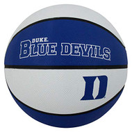 NCAA Duke Blue Devils Official Full Size Rubber Basketball