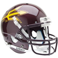 NCAA Arizona State Sun Devils Alternate Maroon Replica Full Size Football Helmet