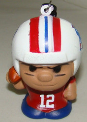 Tom Brady RED Squeezymate RARE ODDS (1 in 96 packs) SqueezyMates NFL Figurine