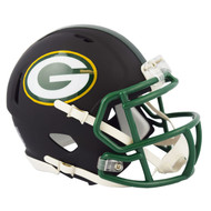 Riddell Green Bay Packers Black Matte Alternate Speed Mini Football Helmet