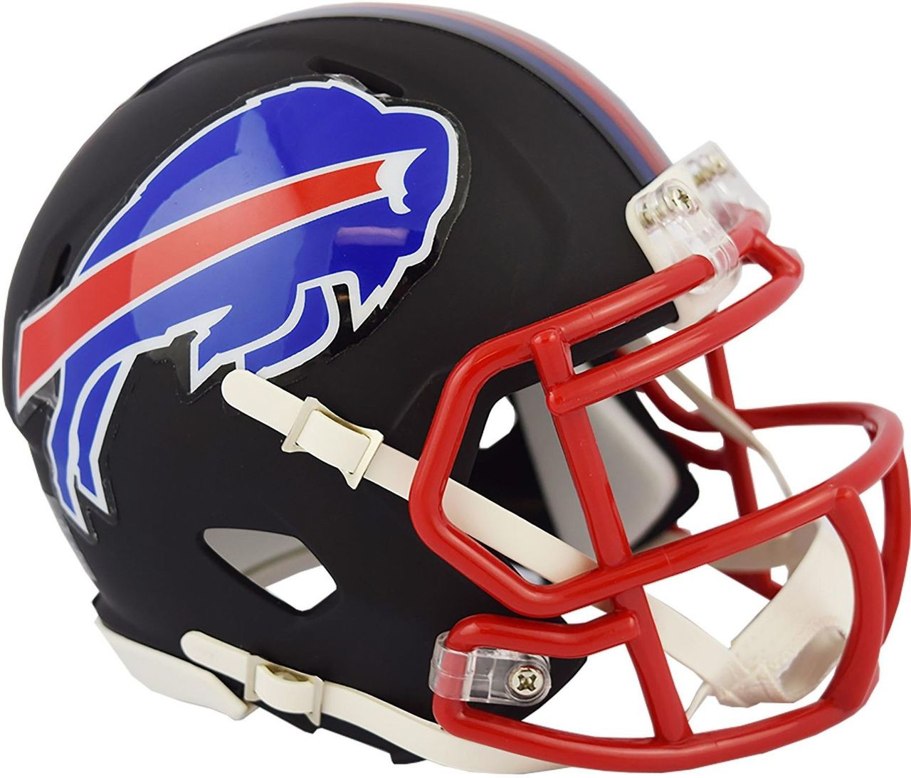 982bd07c Riddell Buffalo Bills Black Matte Alternate Speed Mini Football Helmet