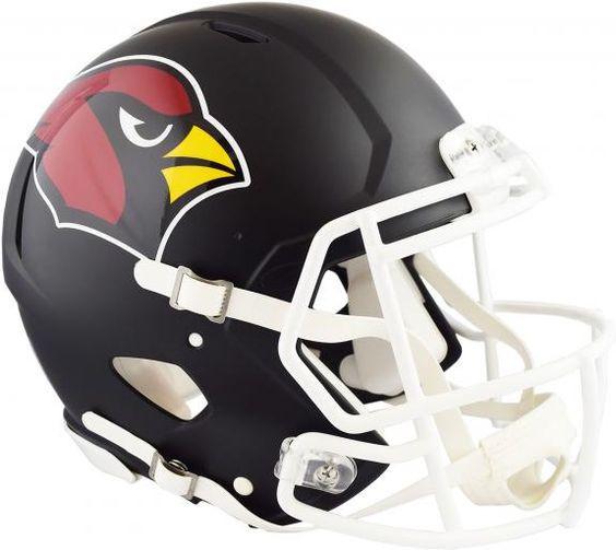 4fc9b6f8 Riddell Arizona Cardinals Black Matte Alternate Speed Mini Football Helmet