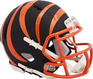 Riddell Cincinnati Bengals Black Matte Alternate Speed Mini Football Helmet
