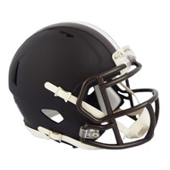 Riddell Cleveland Browns Black Matte Alternate Speed Mini Football Helmet