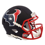 Riddell Houston Texans Black Matte Alternate Speed Mini Football Helmet