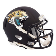 Riddell Jacksonville Jaguars Black Matte Alternate Speed Mini Football Helmet