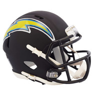Riddell Los Angeles Chargers Black Matte Alternate Speed Mini Football Helmet
