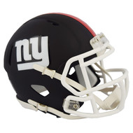 Riddell New York Giants Black Matte Alternate Speed Mini Football Helmet