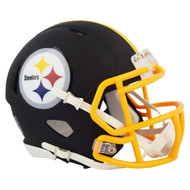 Riddell Pittsburgh Steelers Black Matte Alternate Speed Mini Football Helmet