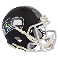Riddell Seattle Seahawks Black Matte Alternate Speed Mini Football Helmet