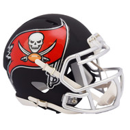 Riddell Tampa Bay Buccaneers Black Matte Alternate Speed Mini Football Helmet
