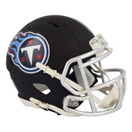 Riddell Tennessee Titans Black Matte Alternate Speed Mini Football Helmet