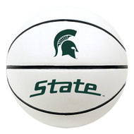 Michigan State Spartans NCAA Official Full Size Autograph Signature White Panel Basketball