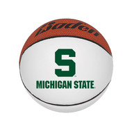 "Michigan State Spartans NCAA Mini Autograph Signature White Panel Basketball (Mini 5"" Size)"
